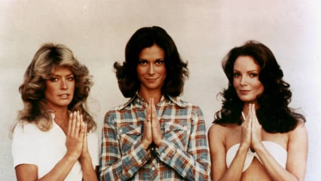 Farrah Fawcett, Kate Jackson and Jaclyn Smith