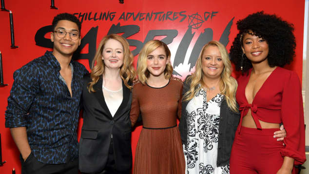 The 'Chilling Adventures of Sabrina' Cast
