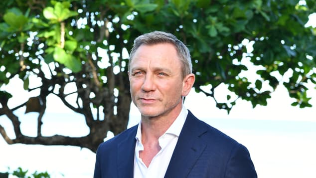 "Daniel Craig attends the ""Bond 25"" film launch at Ian Fleming's Home 'GoldenEye' on April 25, 2019 in Montego Bay, Jamaica"