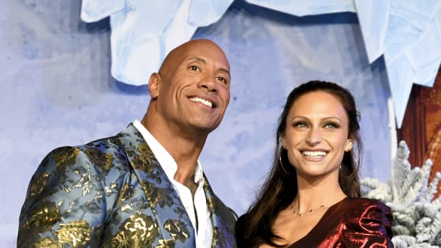 "Dwayne Johnson Says Ancestors Were ""Watching Over"" His ""Magical Wedding"""
