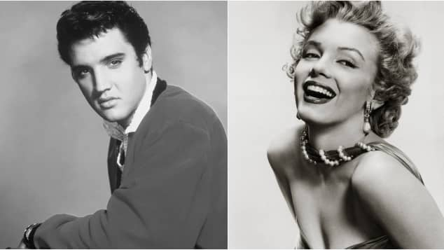 Elvis Presley and Marilyn Monroe: Did these to have a one-night stand?