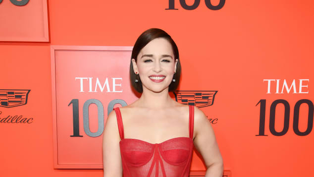 Emilia Clarke at the TIME 100 Gala 2019