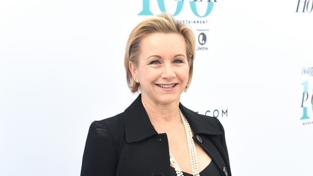 Gabrielle Carteris on the red carpet in 2016.