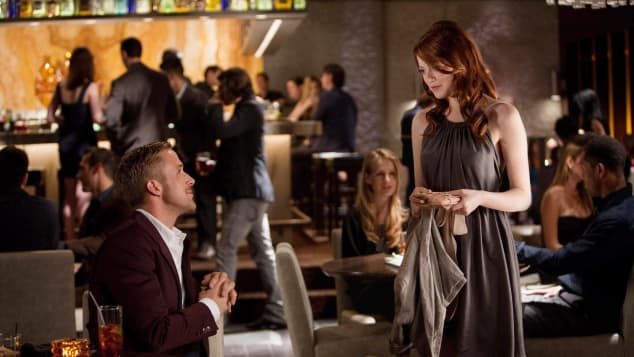 Crazy Stupid Love Ryan Gosling and Emma Stone