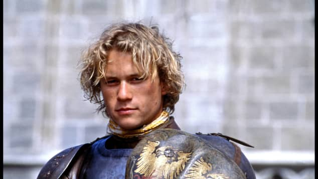 "Heath Ledger in ""A Knight's Tale"" (2001)"
