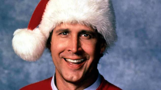 "Chevy Chase stars in ""National Lampoon's Christmas Vacation"""