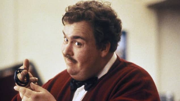 "John Candy starred as ""Del Griffith"" in Plains, Trains & Automobiles"