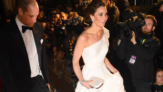 Kate dazzled at the 2019 BAFTAs
