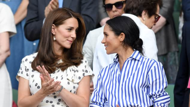 Duchess Catherine and Duchess Meghan at Wimbledon, Kensington Palace denies feud between Kate and Meghan