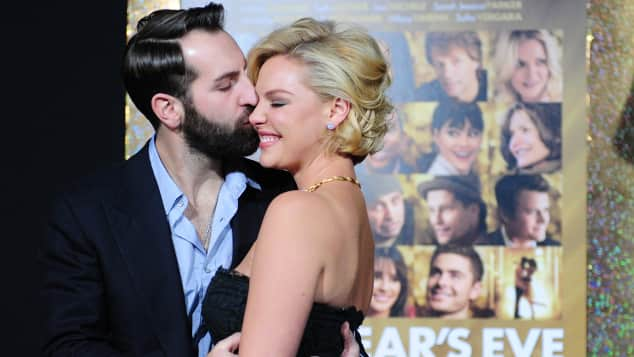 Katherine Heigl and Josh Kelley got married over the Christmas vacation