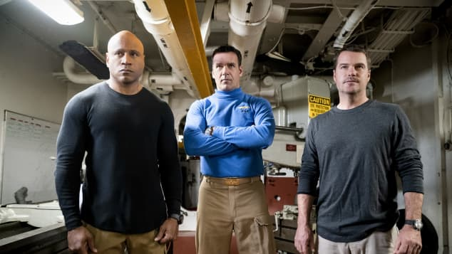 """Hanna"" and ""Callen"" are teaming up with ""Captain Harmon Rabb Jr."" on NCIS: Los Angeles."