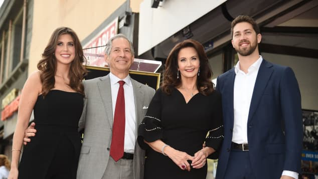 Lynda Carter, Robert A. Altman, Jessica Altman and James Altman