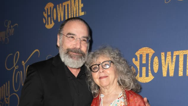 Mandy Patinkin and Kathryn Grody attend the Showtime Emmy Eve Nominees Celebration at Chateau Marmont on September 16, 2018