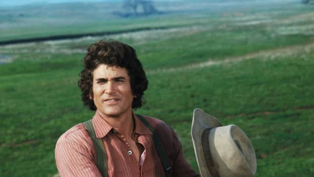 "Michael Landon in ""Little House on the Prairie"""
