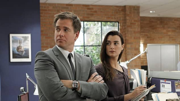 Tony and Ziva in NCIS