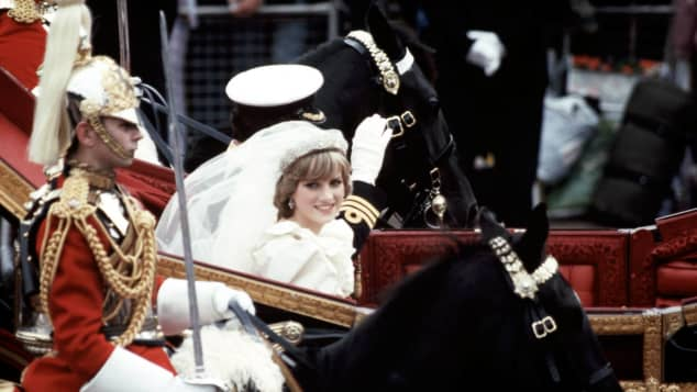 Watch The Gorgeous New Video Of Princess Diana On Her Wedding Day