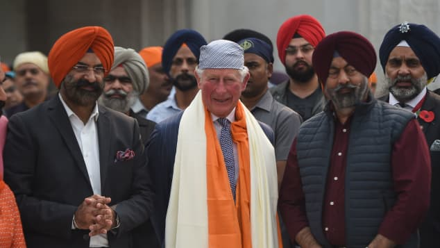 Prince Charles, pictured in New Delhi in November 2019.