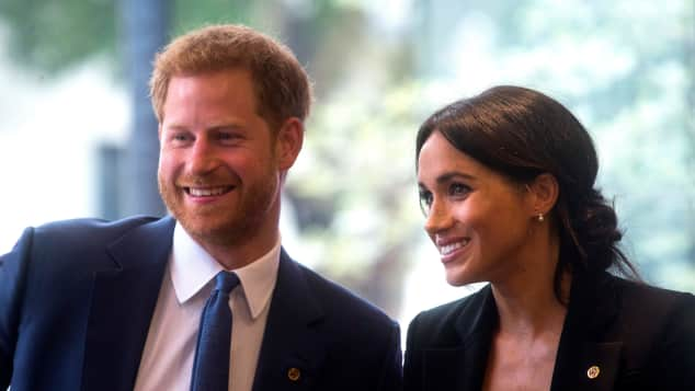 Prince Harry and Duchess Meghan at the WellChild Awards 2018