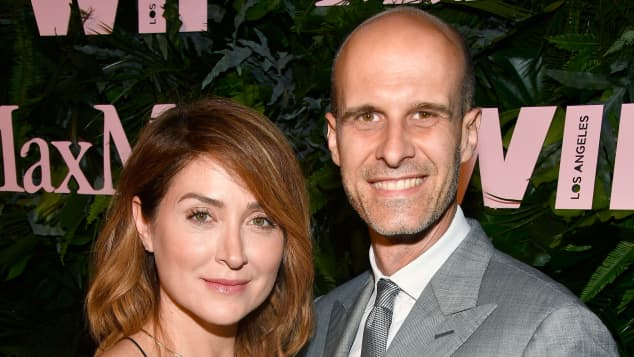 Sasha Alexander and her husband Edoardo Ponti
