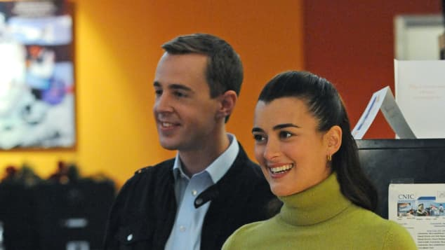 Sean Murray Cote De Pablo 2011