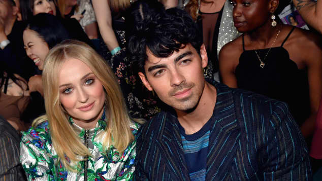 Sophie Turner and Joe Jonas at the 2019 Billboard Music Awards in Las Vegas.