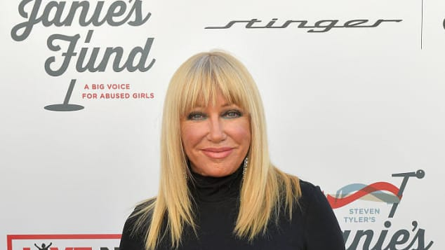 TV star Suzanne Somers
