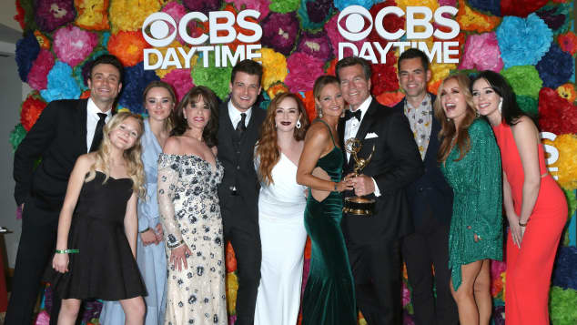The cast of 'The Young and the Restless' at the 2019 Daytime Emmys
