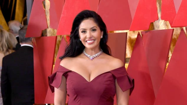 Vanessa Bryant attends the 90th Annual Academy Awards, March 4, 2018.