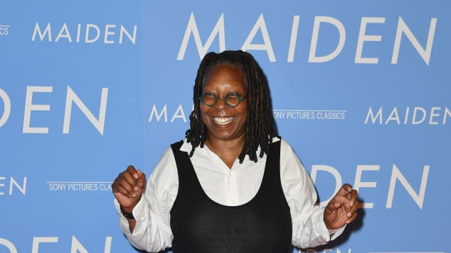 Whoopi Goldberg on the red carpet