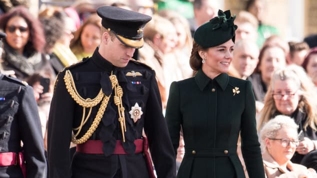 Prince William and Duchess Catherine at St. Patrick's Day Festivities 2019