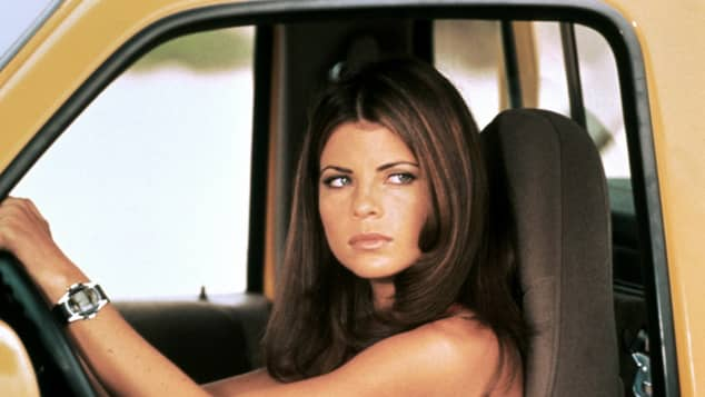"Yasmine Bleeth starred in ""Baywatch"""
