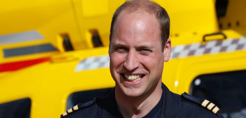 """Prince William """"seriously considering"""" a return as air ambulance pilot"""