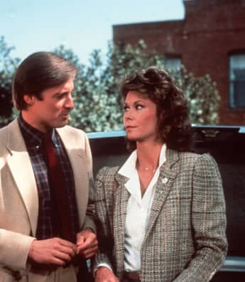 """""""Scarecrow"""" and """"Mrs. King"""": Bruce Boxleitner and Kate Jackson"""