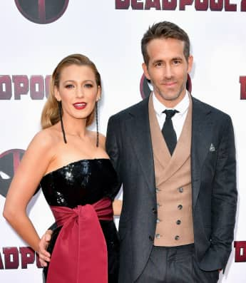 Blake Lively and Ryan Reynolds attend the 'Deadpool 2' screening at AMC Loews Lincoln Square on May 14, 2018 in New York City