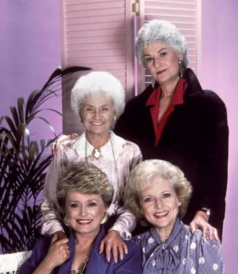 """""""Rose"""", """"Blanche"""", """"Dorothy"""" and """"Sophia"""" were The Golden Girls"""