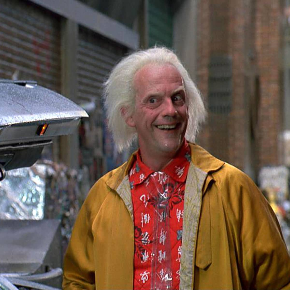 Back To The Future This Is Christopher Lloyd Today