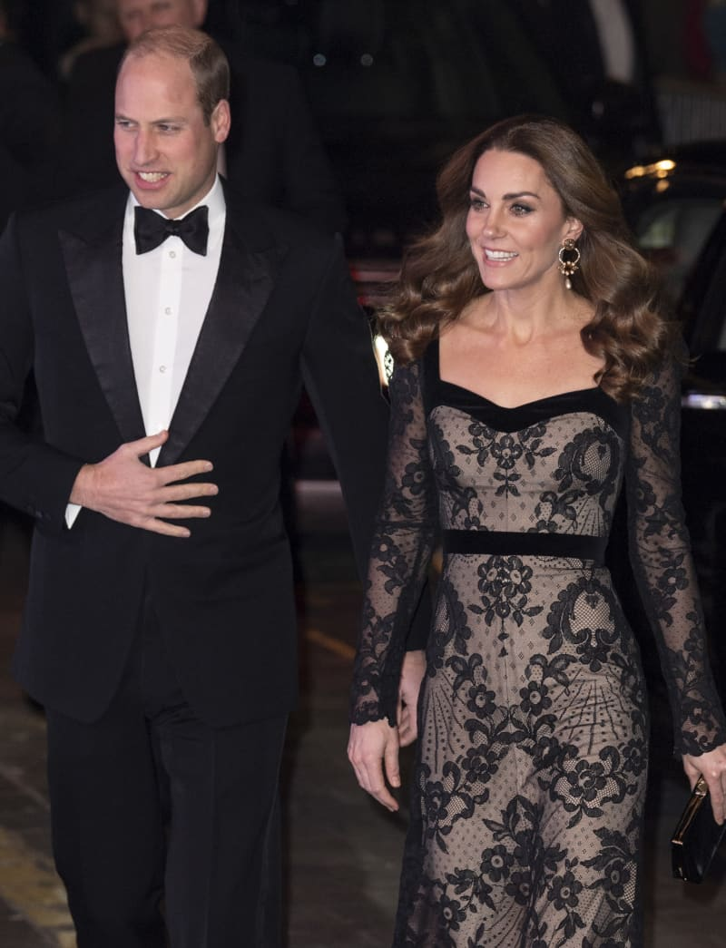 Duchess Catherine Prince William Painful Royal Variety Performance Jokes