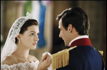 "Anne Hathaway in ""The Princess Diaries 2: Royal Engagement"""