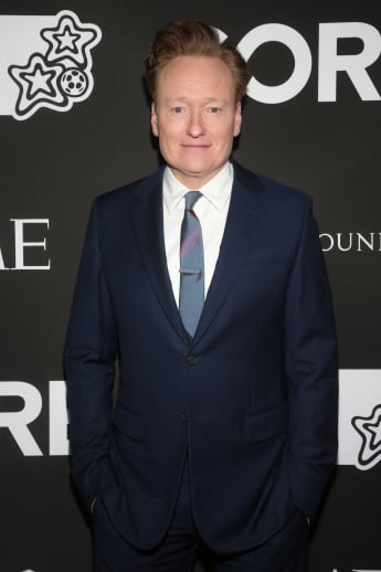'Late Night with Conan O'Brien' Conan O'Brien at 10th Anniversary Gala Benefiting CORE