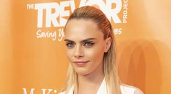 Cara Delevingne at the 2019 TrevorLIVE New York Gala.