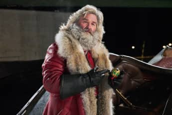Kurt Russell as Santa Claus in The Christmas Chronicles