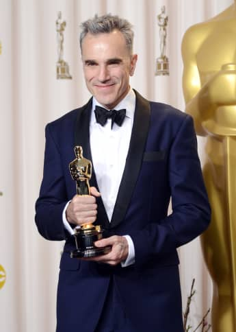 """Daniel Day-Lewis is awarded with the Oscar for Best Actor for """"Lincoln,"""" on February 24, 2013 in Hollywood, California"""