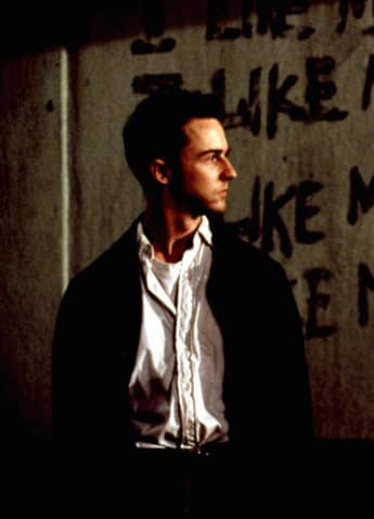 David Fincher: The Best Movies By The Crime Film Director - Fight Club 1999 Edward Norton Brad Pitt