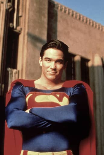 "Dean Cain as ""Superman"""