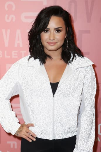 """Demi Lovato Is """"Reprogramming"""" Her Body Image With Help From Fiancé Max Ehrich"""