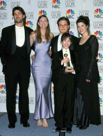 "The ""Party of Five"" cast"