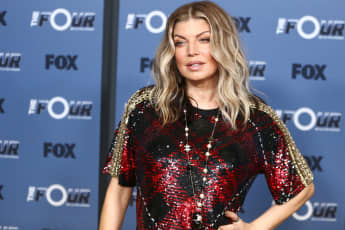 """Fergie attends the premiere of Fox's """"The Four: Battle For Stardom"""" Season 2 at CBS Studios - Radford on May 30, 2018 in Studio City, California"""
