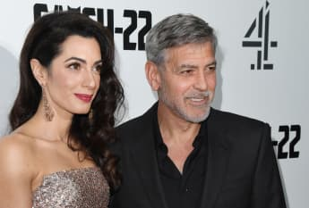 Amal Clooney and George Clooney 2019