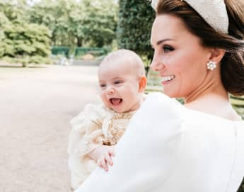 Duchess Catherine and Prince Louis