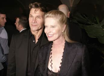 Patrick Swayze and Lisa Niemi in 2004